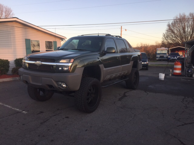 2002 Chevrolet Avalanche North Face