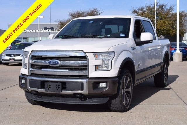 2015 Ford F-150 King Ranch w/Navigation/FX4 Off-Road Pkg Truck SuperCrew Cab