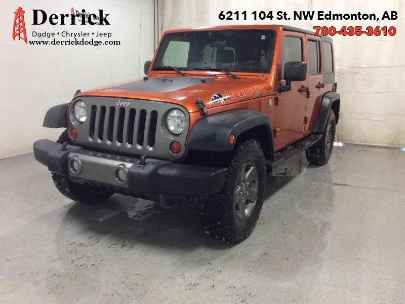 Photo Pre-Owned 2010 Jeep Wrangler Unlimited Used 4WD Wrangler Mountain Pkg Tow Grp 167.94 BW