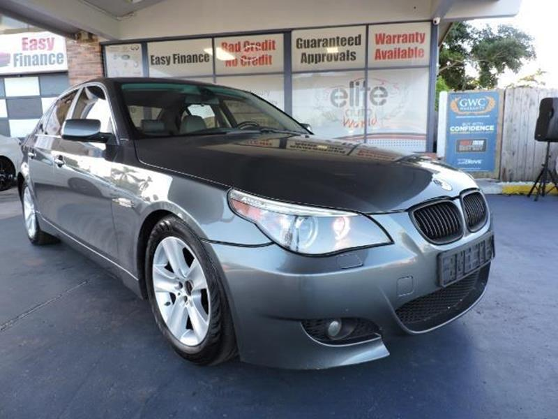 2005 BMW 5 Series 530i 4dr Sedan