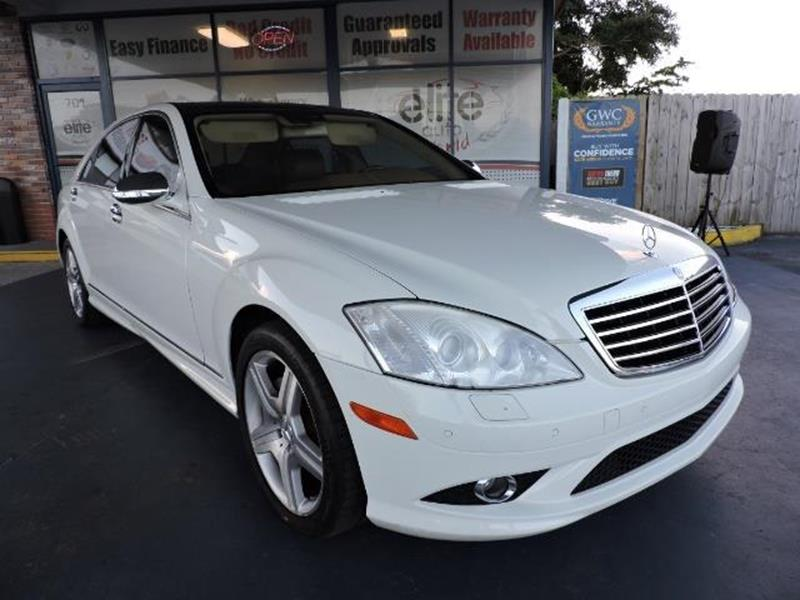 2007 Mercedes-Benz S-Class AWD S 550 4MATIC 4dr Sedan