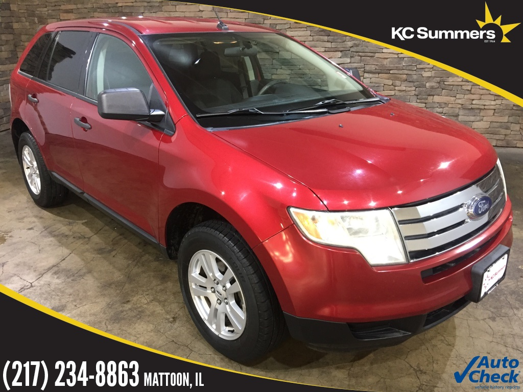 Pre-Owned 2008 Ford Edge SE Redfire Metallic FWD 4D Sport Utility