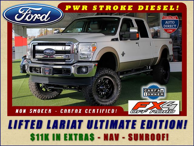 2012 Ford Super Duty F-250 Pickup Lariat ULTIMATE EDITION Crew Cab 4X4 FX4 - LIFTED!