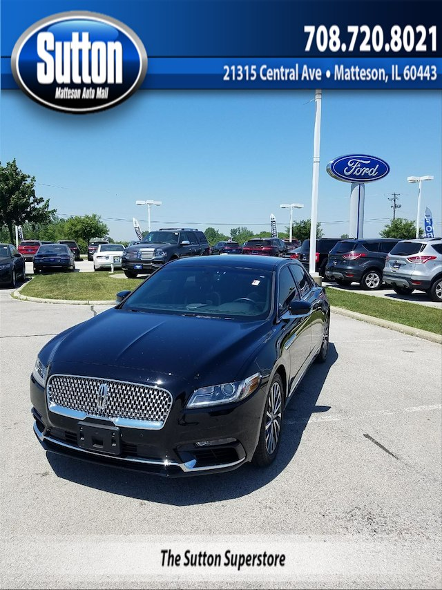 Certified Pre-Owned 2017 LINCOLN Continental Select FWD Sedan