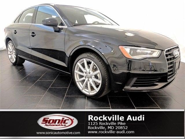 Certified Used 2015 Audi A3 2.0T Sedan in Rockville, MD