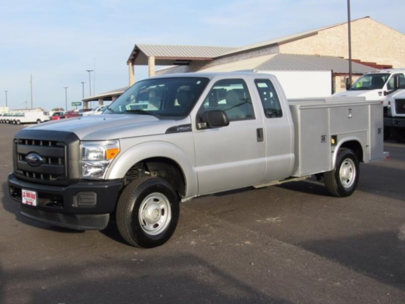 2012 Ford F-250 Super Duty 4x4 XL 4dr SuperCab 8 ft. LB Pickup