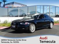 2015 Audi A4 2.0T Premium Sedan in Riverside County, CA