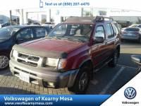2001 Nissan Xterra SE SUV Rear Wheel Drive