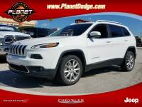 2018 Jeep Cherokee Limited 4dr SUV