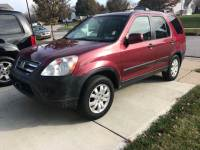 2006 Honda CR-V AWD EX 4dr SUV w/Manual