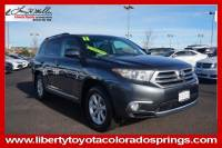 Used 2011 Toyota Highlander 4WD V6 Base For Sale in Colorado Springs, CO