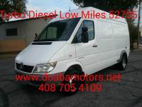 2005 Dodge Sprinter Cargo 3500 High Roof 140 WB 3dr Extended Cargo Van DRW