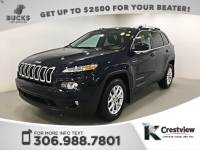 Pre-Owned 2015 Jeep Cherokee North 4x4 | Heated Seats and Steering Wheel | Remote Start 4WD Sport Utility