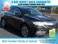 Used 2016 Acura MDX 3.5L SH-AWD V6 w/ Navigation & DVD & Technology Pa SUV in Seekonk, MA