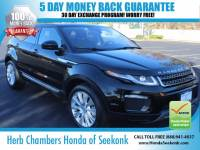Used 2016 Land Rover Range Rover Evoque HSE AWD w/ Navigation SUV in Seekonk, MA