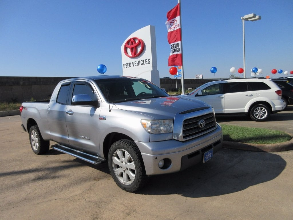 Used 2007 Toyota Tundra Limited Truck RWD For Sale in Houston