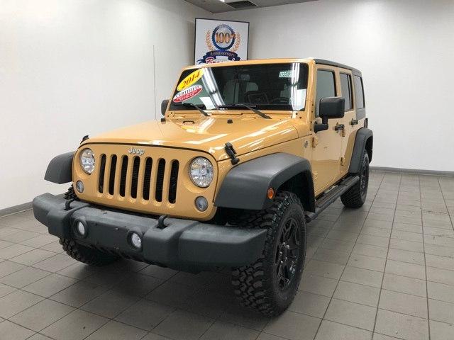 2014 Jeep Wrangler Unlimited Sport SUV