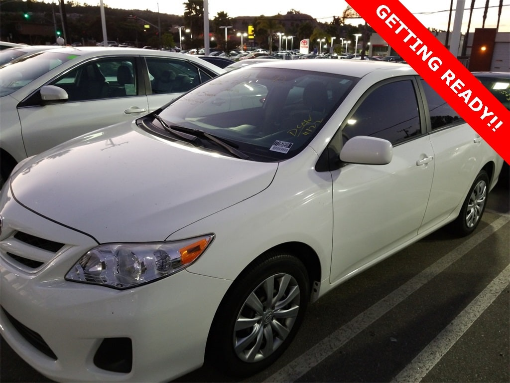 Used 2012 Toyota Corolla LE in Torrance CA
