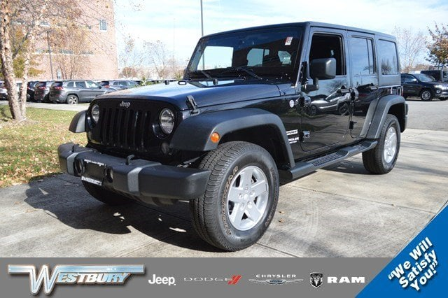 Certified Used 2015 Jeep Wrangler Unlimited Sport 4WD Sport Long Island, NY