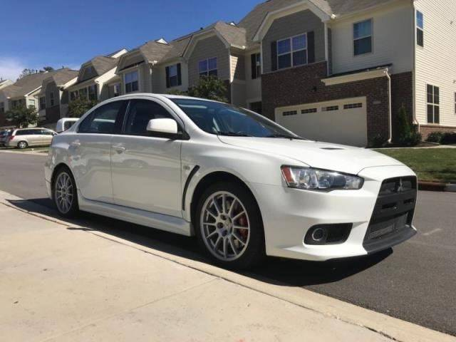 2012 Mitsubishi Lancer Evolution AWD GSR 4dr Sedan