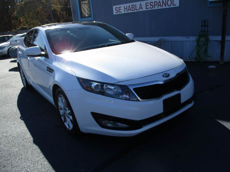 2013 Kia Optima EX 4dr Sedan