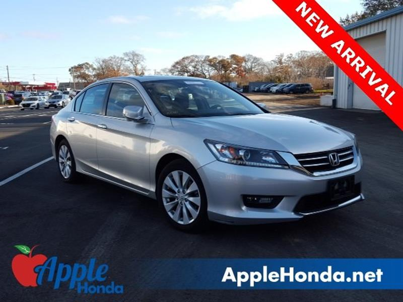 2015 Honda Accord EX 4dr Sedan CVT