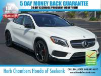 Used 2015 Mercedes-Benz GLA GLA 45 AMG w/ Navigation SUV in Seekonk, MA