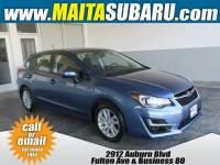 Used 2016 Subaru Impreza Wagon 2.0i Premium Available in Sacramento CA