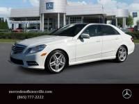 Certified Pre-Owned 2013 Mercedes-Benz E-Class 4dr Sdn E 550 Sport 4MATIC® *Ltd Ava AWD 4MATIC®