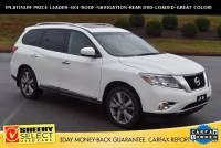 2015 Nissan Pathfinder !Platinum 4X4-Roof-NAV-Rear DVD! SUV V-6 cyl