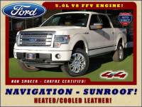 2013 Ford F-150 Platinum SuperCrew 4x4 - NAVIGATION - SUNROOF!