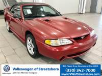 Pre-Owned 1998 Ford Mustang Cobra RWD 2D Convertible