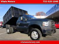 2005 Ford F-350 SD XL 4WD DUMP TRUCK WITH SNOW PLOW!!