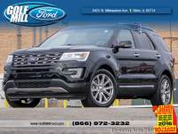 Certified Pre-Owned 2017 Ford Explorer Limited FWD SUV