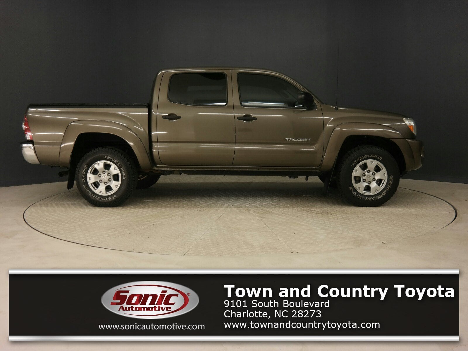 Used 2011 Toyota Tacoma Prerunner 2WD Double V6 AT Natl Truck Double Cab in Charlotte