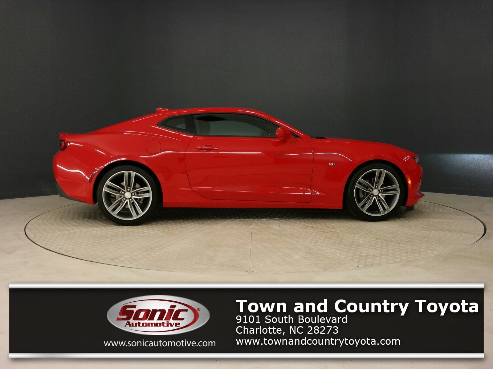 Used 2016 Chevrolet Camaro LT 2dr Cpe w/1 Coupe in Charlotte