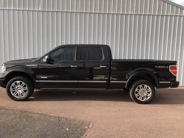 2013 Ford F-150 4x4 Platinum 4dr SuperCrew Styleside 6.5 ft. SB