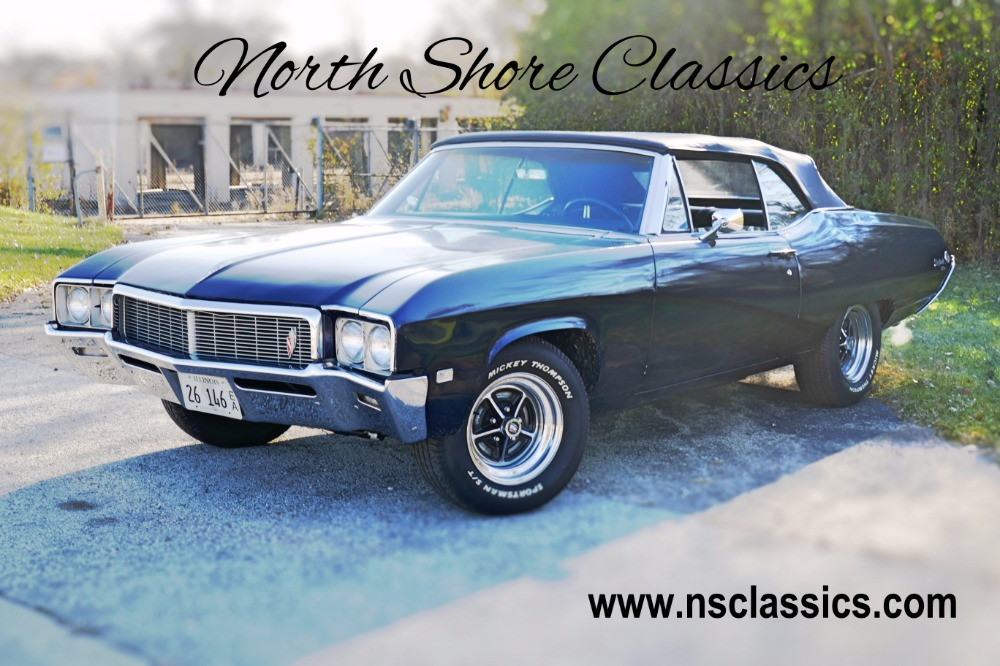 Photo 1968 Buick Skylark -MIDNIGHT BLUE- POWER TOP CONVERTIBLE DRIVER CLASSIC- SEE VIDEO