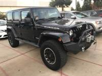 Used 2013 Jeep Wrangler Unlimited Rubicon SUV for Sale in Fresno, CA