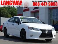 Pre-Owned 2015 LEXUS ES 350 Crafted Line Sedan Front-wheel Drive in Middletown, RI Near Newport