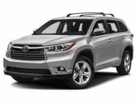 2016 Toyota Highlander Limited Platinum V6 SUV All-wheel Drive