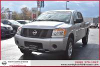 Certified Pre-Owned 2013 Nissan Titan 4WD Crew Cab SWB S Four Wheel Drive Pickup Truck