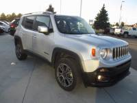 CERTIFIED PRE-OWNED 2017 JEEP RENEGADE LIMITED 4WD