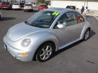 2004 Volkswagen New Beetle 2dr GLS 1.8T Turbo Coupe