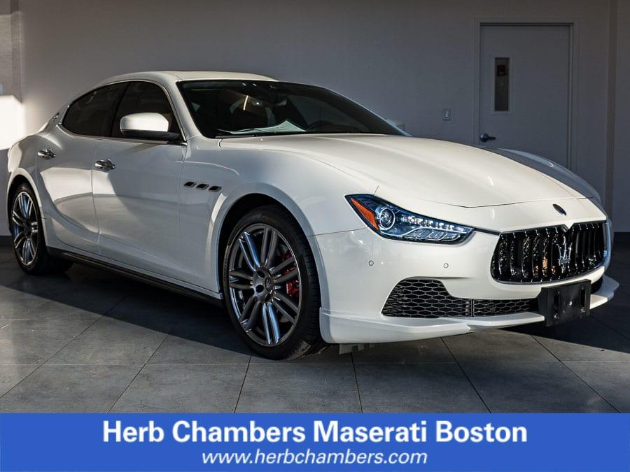Photo Used 2017 Maserati Ghibli S Q4 Sedan near Boston, MA