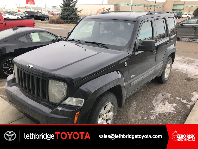 Photo Fresh Trade 2010 Jeep Liberty TEXT 403-393-1123 for more info
