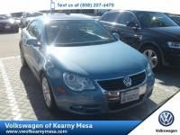 2008 Volkswagen Eos Komfort Coupe Front Wheel Drive