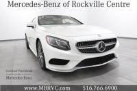 Certified Pre-Owned - 2015 Mercedes-Benz S-Class S 550 4MATIC® Coupe