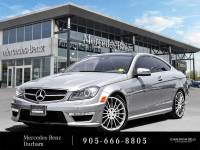 Certified Pre-Owned 2013 Mercedes-Benz C63 AMG Coupe