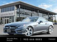 Certified Pre-Owned 2015 Mercedes-Benz SLK250 Rear Wheel Drive